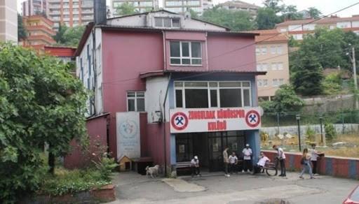 Kulüp binasına koronavirüs engeli