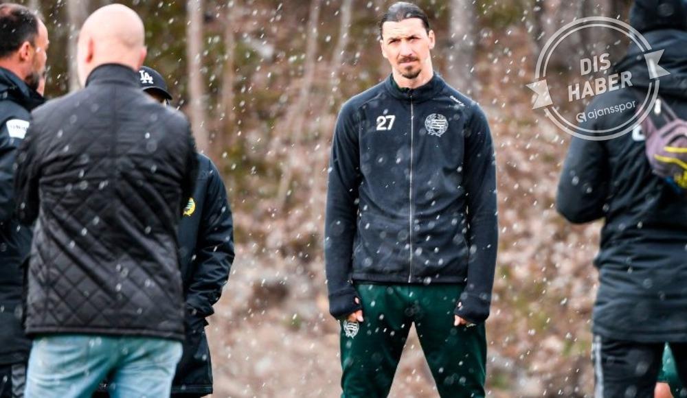 Zlatan Ibrahimovic, Hammarby ile çalışmalarına devam ediyor