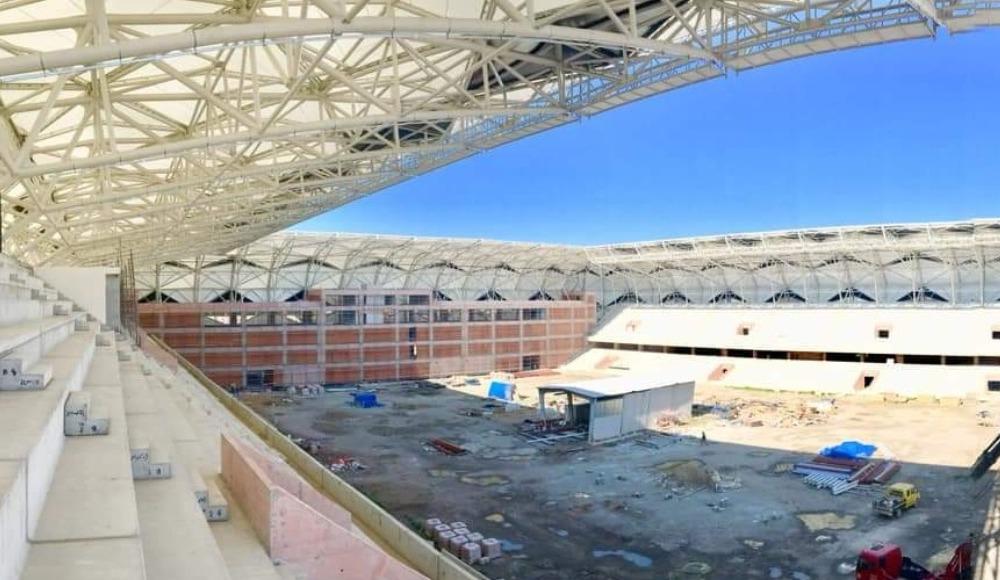 Alsancak Stadı, gelecek sezona yetiştirilmeye çalışılıyor