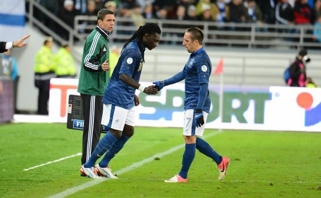 Sol kanat - Franck Ribery