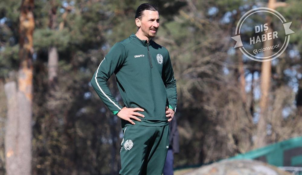 """Zlatan Ibrahimovic: """"Milan ile sözleşmem devam ediyor"""""""