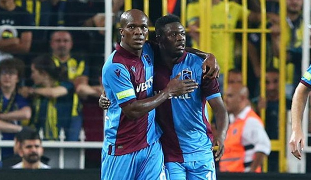 Trabzonspor'a Ekuban, Nwakaeme ve Abdülkadir'den iyi haber