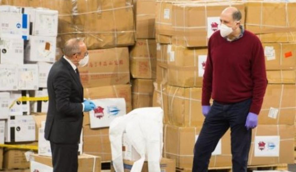 Alaves ve Baskonia kulüplerinden sağlık kuruluşlarına koruyucu ekipman yardımı