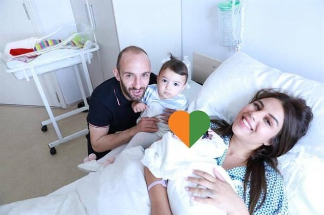 Alanyaspor Kaptanı Efecan Karaca, ikinci kez baba oldu