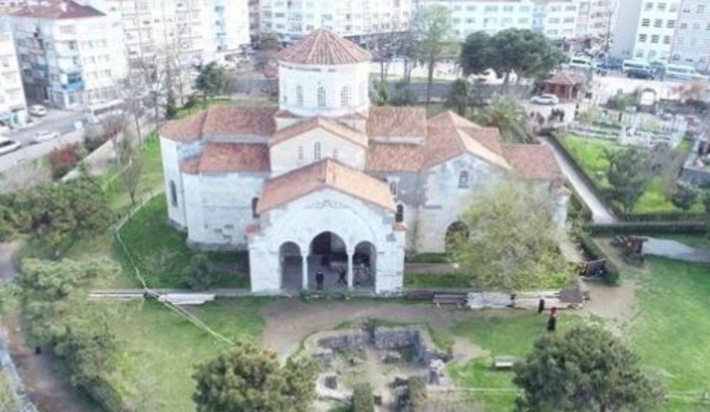 Trabzon Ayasofya'nın bahçesi betonlaştı mı? Resmi açıklama