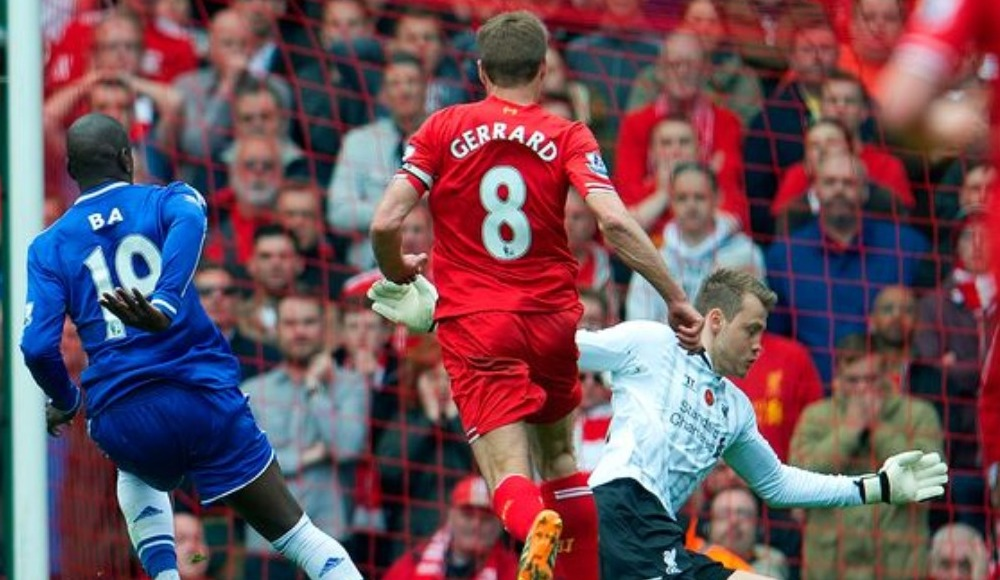 Demba Ba, Liverpool'a attığı tarihi golü anlattı