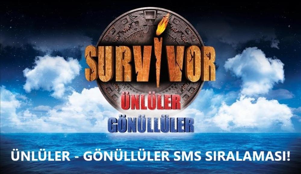 Son dakika! Survivor (28 Nisan Salı) SMS sıralaması belli oldu! Elenen ismi öğrenin...