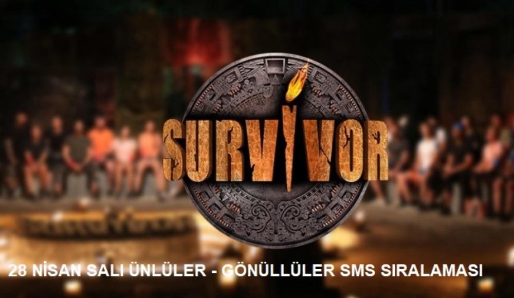 Survivor'da elenen isim ve sms sıralaması belli oldu!