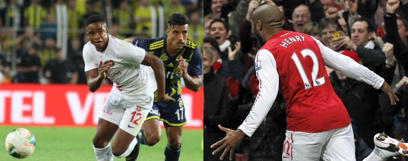 Örnek aldığın bir futbolcu var mı? Stilini Thierry Henry'ye benzetiyorum...