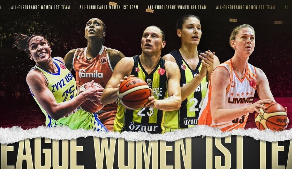 Fenerbahçe'den Iagupova ve Zandalasini, Kadınlar Avrupa Ligi'nin en iyi beşine seçildi