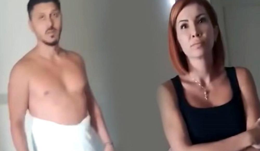 Süper Lig'in eski futbolcusu otel odasında basıldı! Video İzle