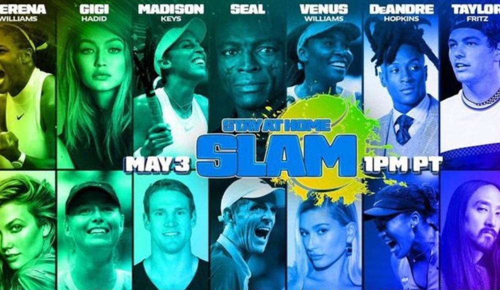 8 ünlü tenisçi, 8 ünlü modelle maç yapacak