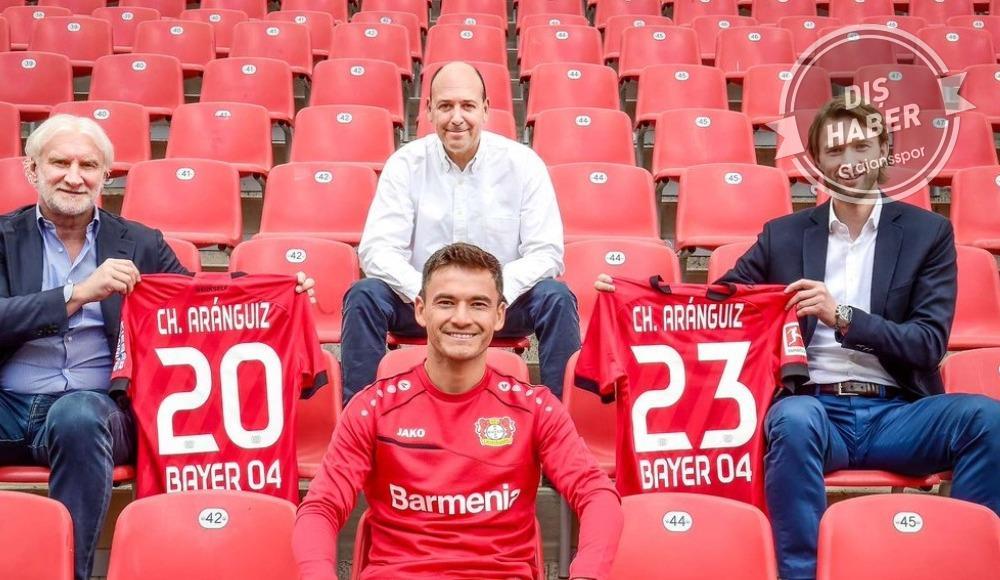 Bayer Leverkusen, Charles Aranguiz ile uzattı
