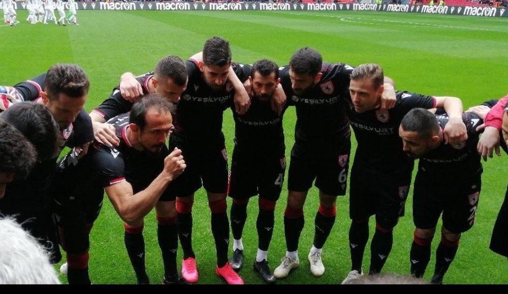 Yılport Samsunspor'da TFF 1. Lig'e yükselme sevinci
