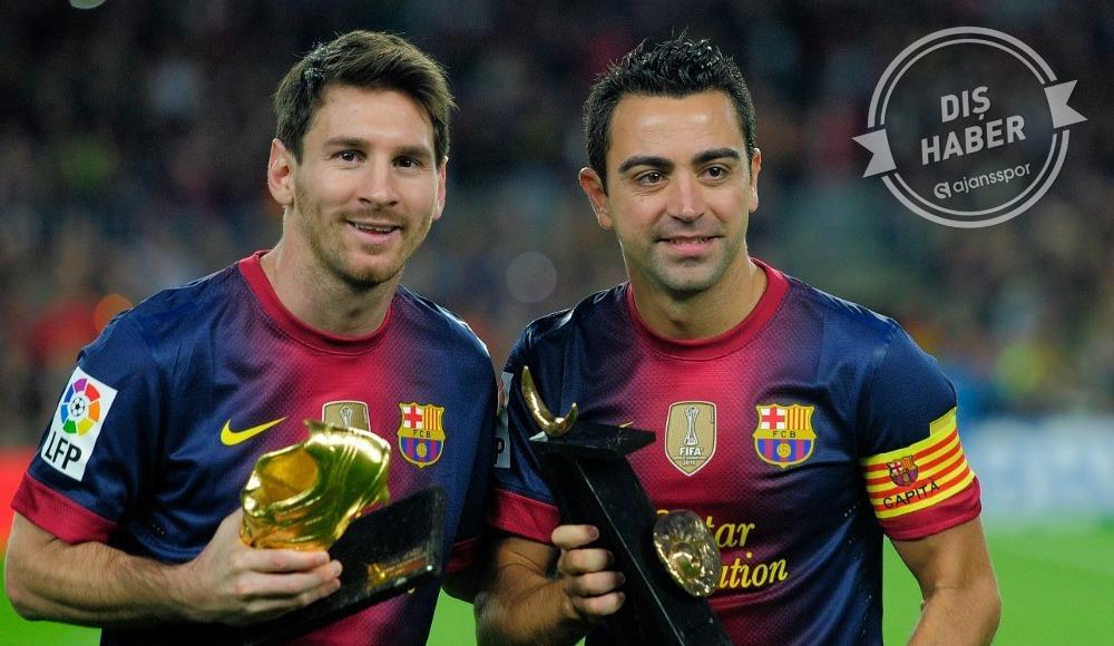 """Xavi: """"Messi'nin yedi yılı daha var"""""""