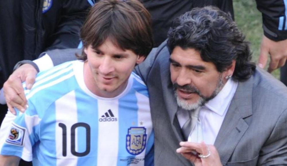 """Maradona başka bir dünya"""