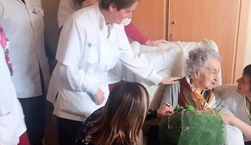 İspanya'da 113 yaşındaki kadın corona virüsü yendi
