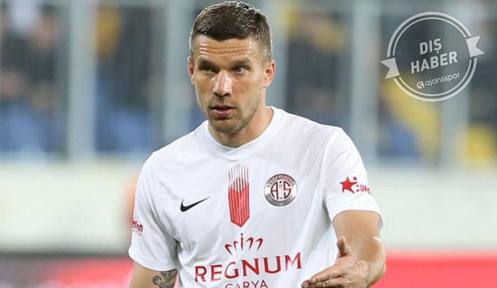 Podolski Antalyaspor'u tercih ettiği için mutlu