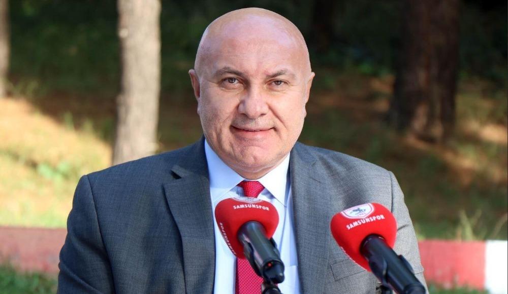 """Samsunspor Başkanı Yıldırım: """"O karar alınırsa futboldan çekilirim"""""""