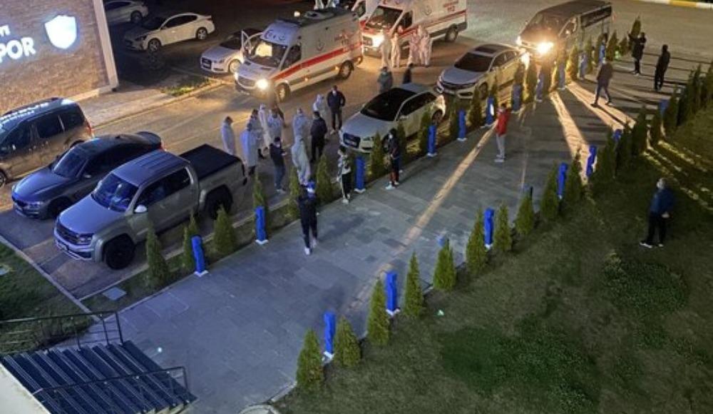 Erzurumsporlu futbolculardan isyan; ''Helal olsun TFF!''