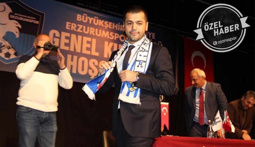 """Erzurumspor Başkanı Üneş: """"Kulüp binamız karantinada"""""""
