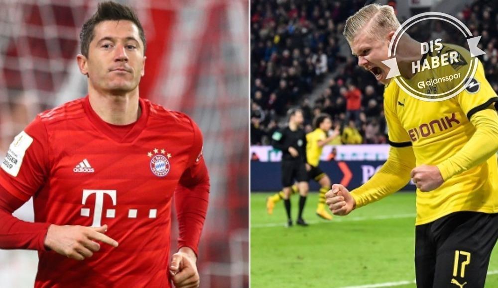 Lewandowski'den Haaland'a önemli uyarı