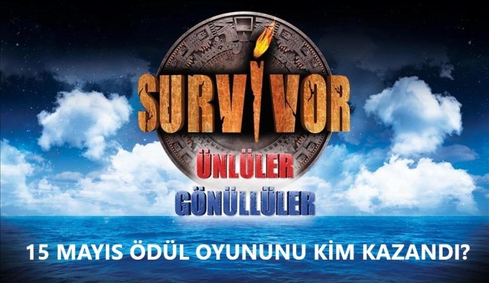 Survivor ödül oyununu kim kazandı? (15 Mayıs Cuma)