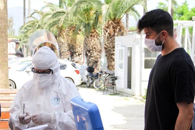 Hatayspor'a ikinci defa koronavirüs testi yapıldı