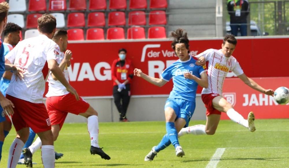 Jahn Regensburg - Holstein Kiel maçında kazanan çıkmadı!