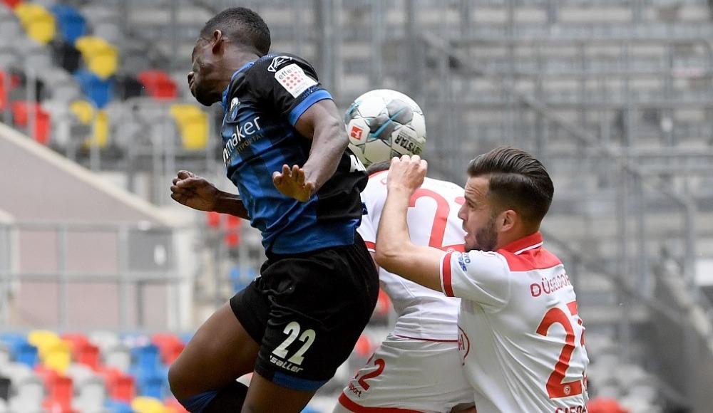 F.Düsseldorf, Paderborn maçında gol sesi çıkmadı!