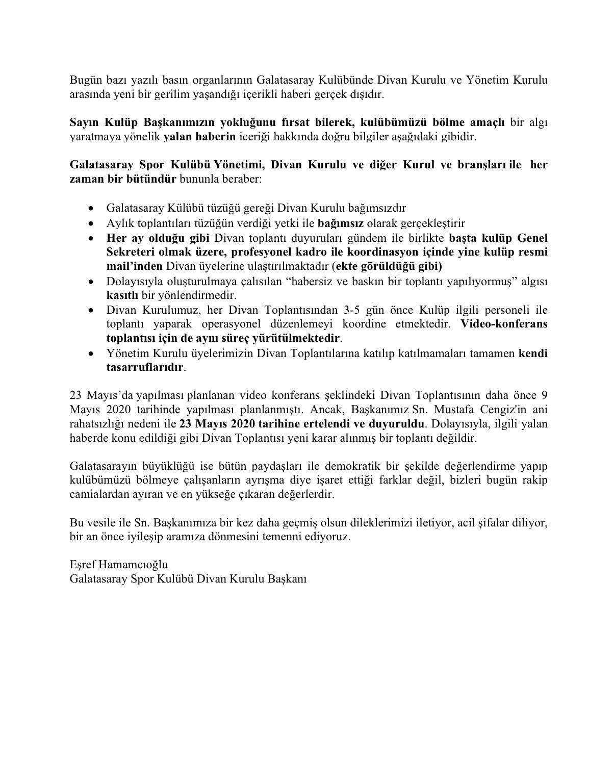 Eşref Hamamcıoğlu'nun paylaşımı