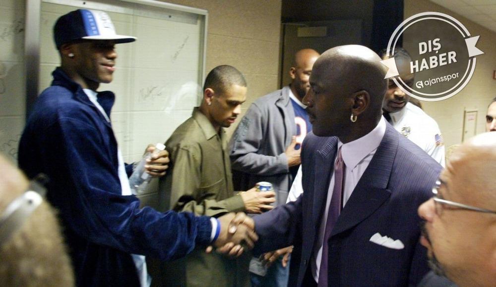 """LeBron James: """"Michael Jordan'ın gerçek biri olduğunu düşünmüyordum"""""""