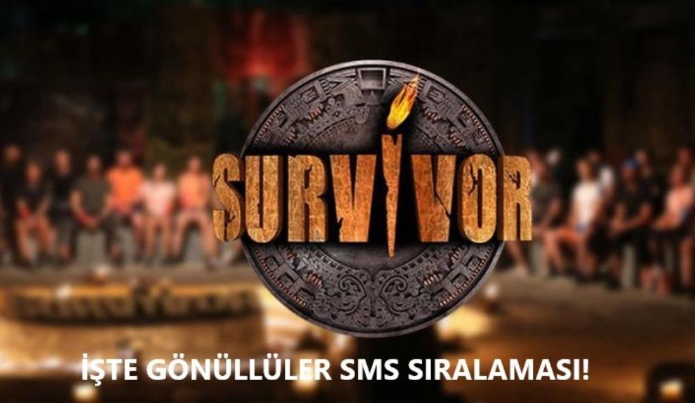 İşte Survivor 2020 Gönüllüler sms sıralaması! (19 Mayıs Salı)