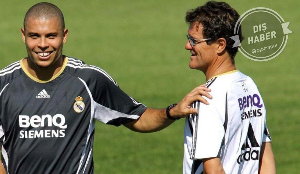 """Capello: """"Çalıştırdığım en büyük yetenek Ronaldo'ydu"""""""