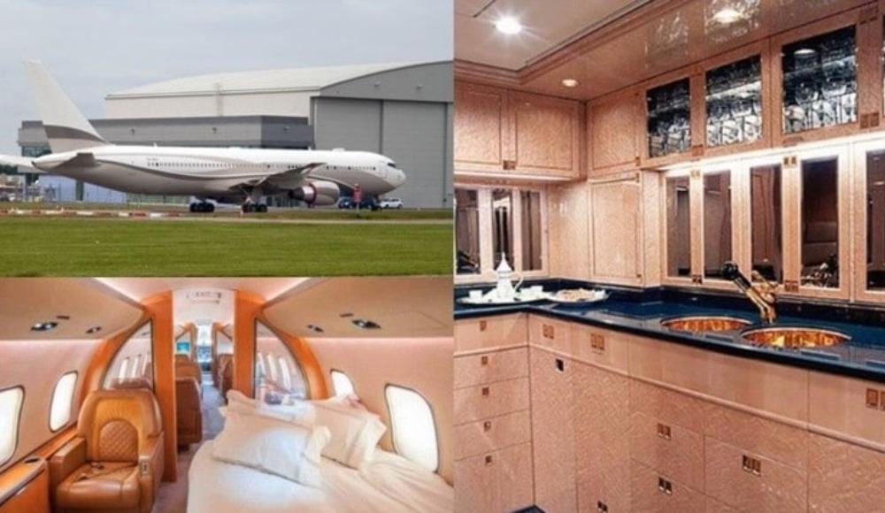 İşte Abramovich'in 75 milyonluk uçağı!
