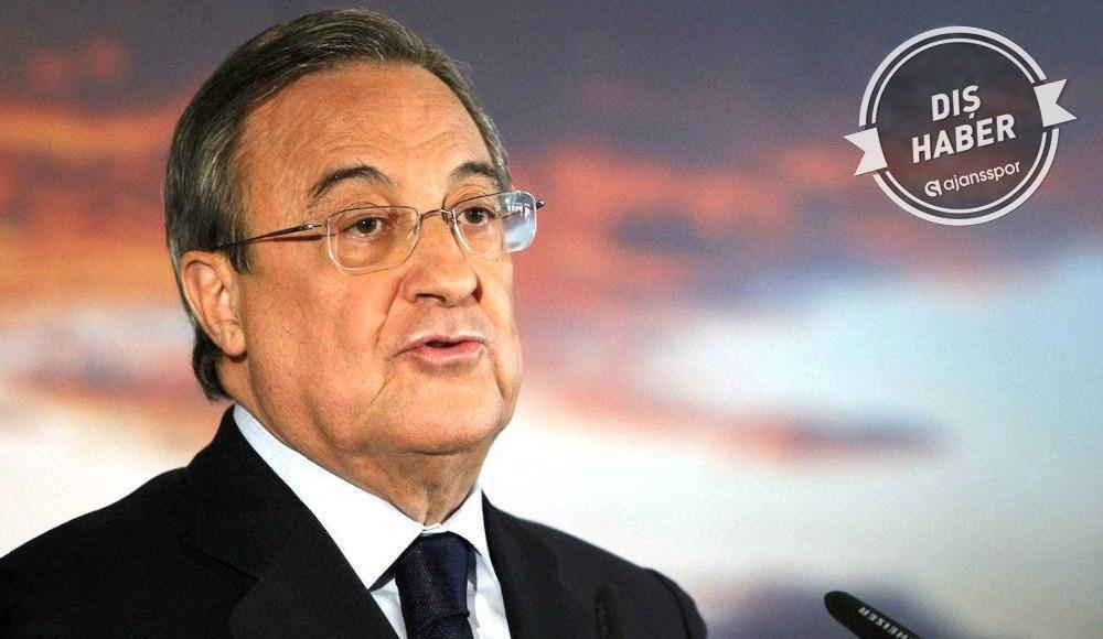 Real Madrid Başkanı Perez'in en büyük hayali…