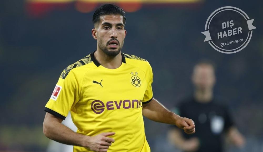 Dortmund'a derbi öncesi Emre Can'dan kötü haber
