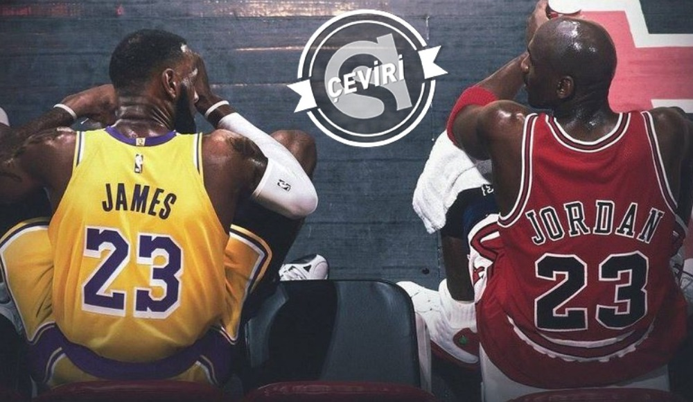 LeBron James kendisini Michael Jordan'dan nasıl ayırabilir?
