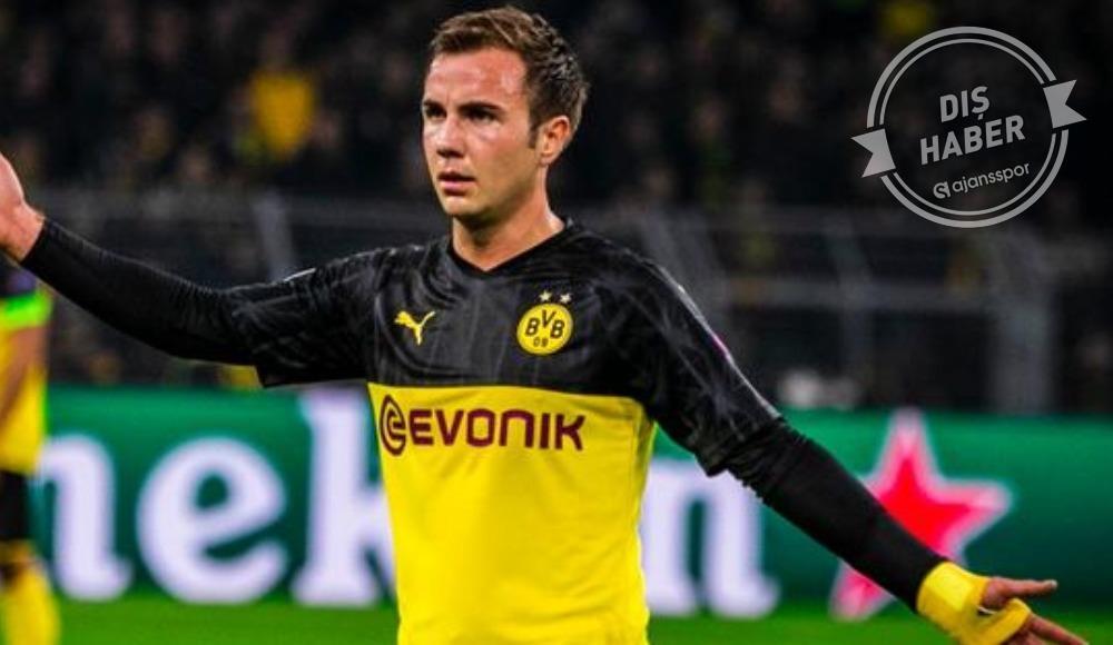 Borussia Dortmund'dan flaş Mario Götze açıklaması