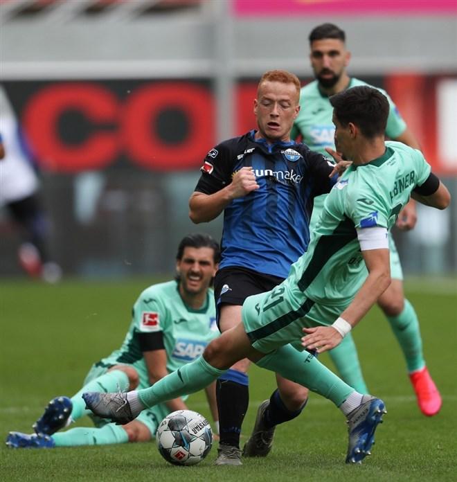 Paderborn - Hoffenheim maçında kazanan çıkmadı!