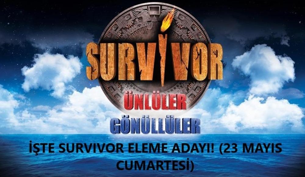 Survivor'da flaş isim eleme adayı oldu! Dokunulmazlığı kazanan takım... (23 Mayıs Cumartesi)