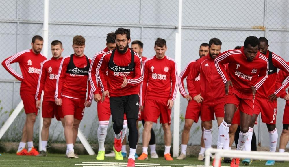 Sivasspor'da hazırlıklar sürüyor!