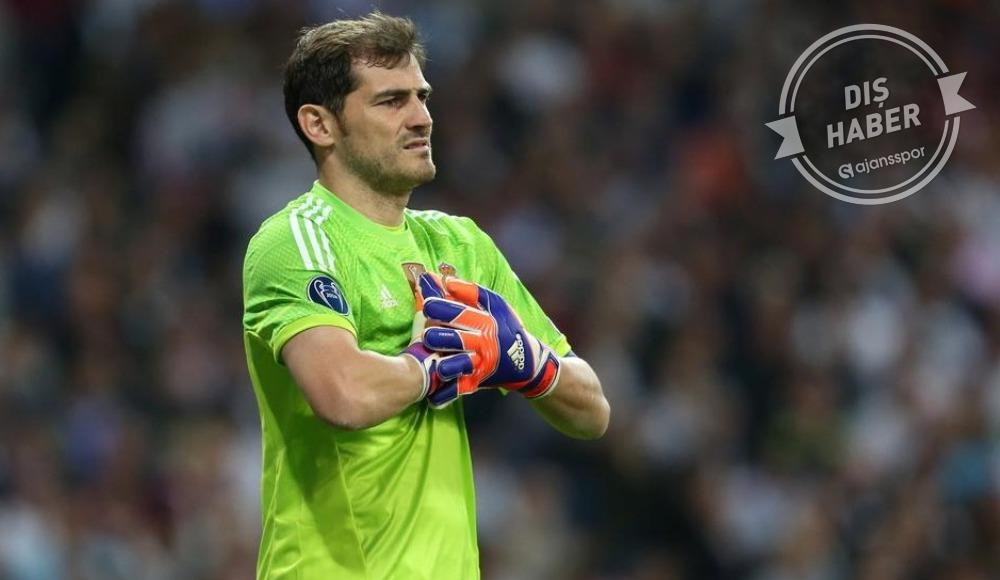 Iker Casillas'dan geri dönüş sinyali!