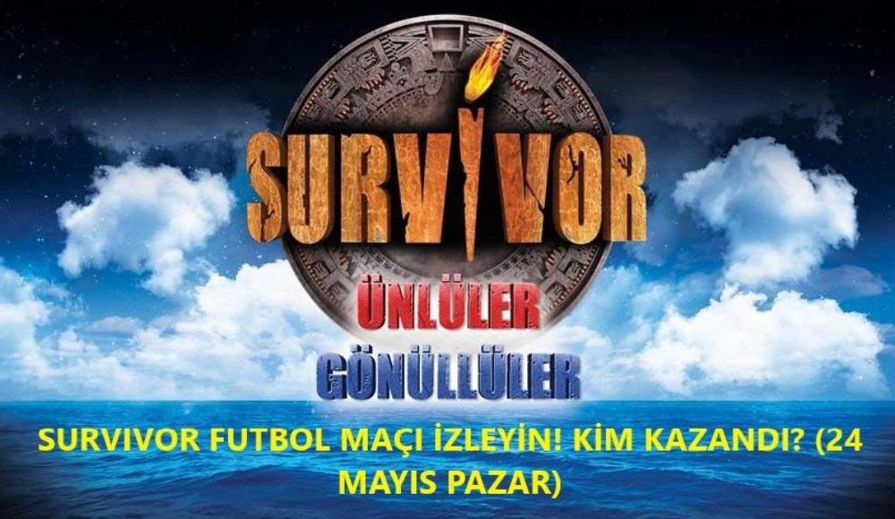 Survivor'da futbol maçı nefesleri kesti! İşte kazanan takım ve müthiş ödül...