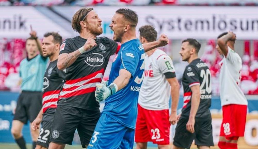 Düsseldorf fırsat tepti: 2-2!
