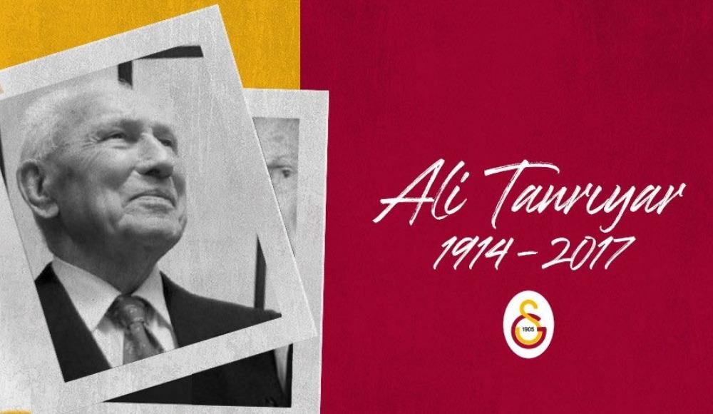Galatasaray Ali Tanrıyar'ı andı