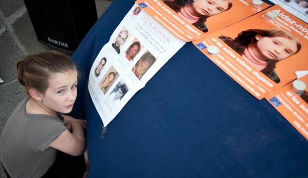 Kayıp çocuklar kampanyasına destek