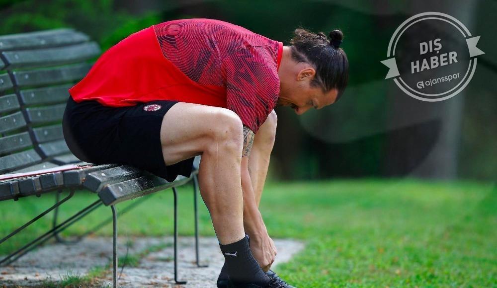 Milan resmen açıkladı! Zlatan sezonu mu kapattı?