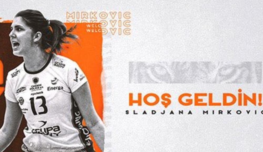 Eczacıbaşı VitrA, Sırp voleybolcu Sladjana Mirkovic'i transfer etti