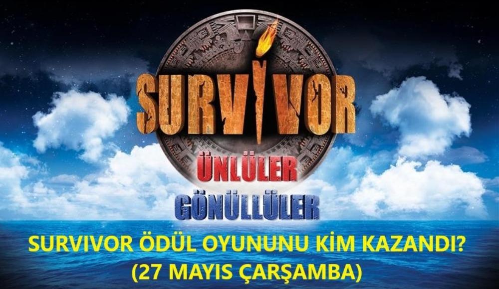 Survivor'da ödül oyununu hangi takım kazandı? Ödül nefesleri kesti...